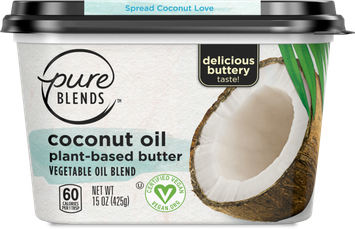 Pure Blends Coconut Oil Buttery Spread