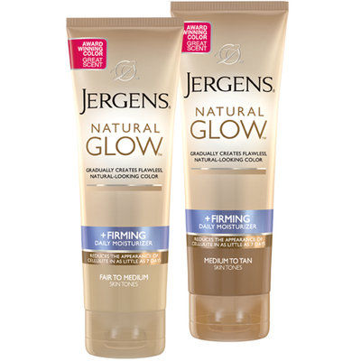 JERGENS® Natural Glow® +FIRMING Daily Moisturizer