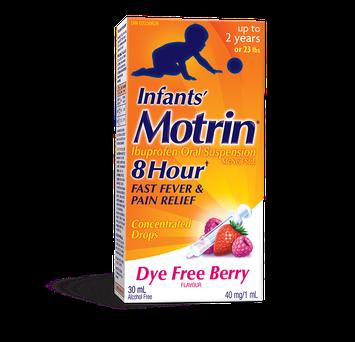 MOTRIN® Infants' Suspension Drops