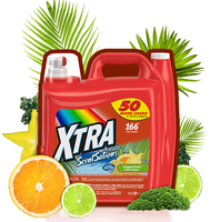 Xtra™ Scentsations Calypso Fresh Laundry Detergent