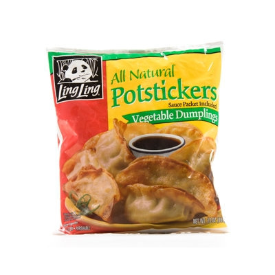 Ling Ling Potstickers All Natural Vegetable Dumplings