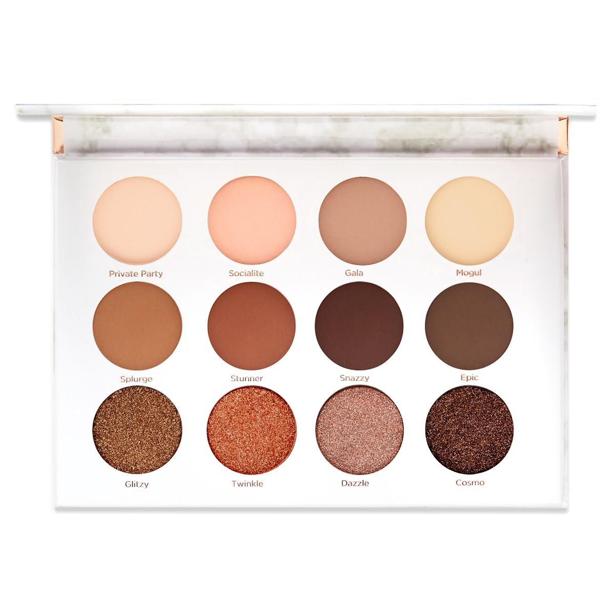 Soiree Diaries Eyeshadow Palette 12 Unique Shadows