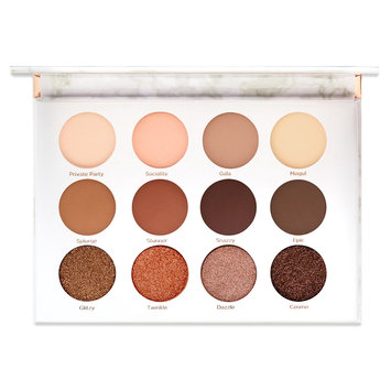 Soiree Diaries Eyeshadow Palette 12 Unique Shadows