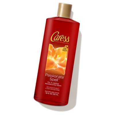 Caress® Passionate Spell™ Passion Fruit & Fiery Orange Rose Body Wash