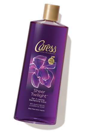 Caress® Sheer Twilight™ Black Orchid & Juniper Oil Scent Body Wash