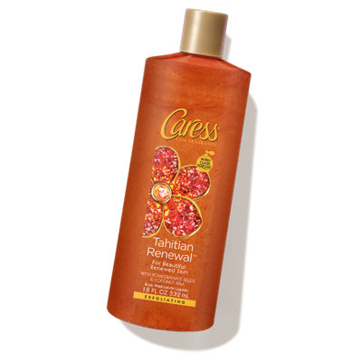 Caress® Tahitian Renewal™ Exfoliating Pomegranate Body Wash