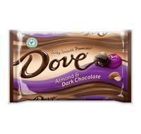 Dove Chocolate Promises Silky Smooth Almond Dark Chocolate