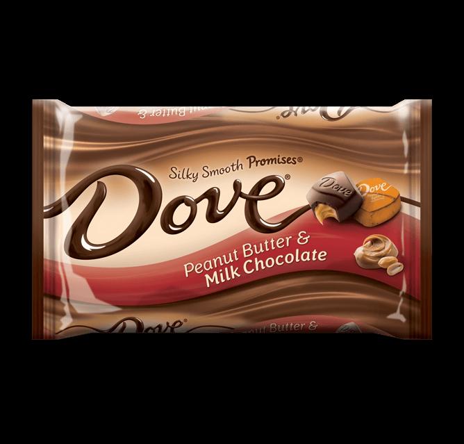 Dove Chocolate Promises Silky Smooth Peanut Butter Milk Chocolate