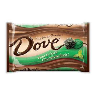 Dove Chocolate Promises Silky Smooth Mint & Dark Chocolate Swirl