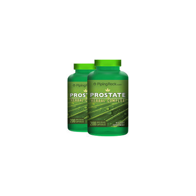 Piping Rock ProstAid Herbal Complex 2 Bottles x 200 Capsules