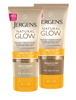 JERGENS® Natural Glow® +PROTECT Daily Moisturizer with Sunscreen Broad Spectrum SPF 20