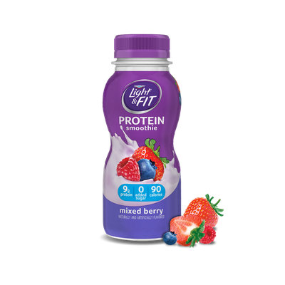 Light & Fit® Mixed Berry Protein Smoothie