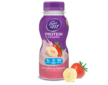 Light & Fit® Strawberry Banana Protein Smoothie