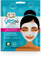Yes To Cotton Comforting Paper Mask – Single Use