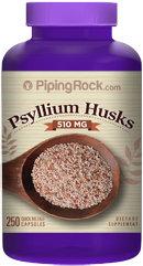 Piping Rock Psyllium Husks 510mg 250 Capsules