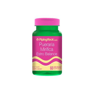 Piping Rock Pueraria Mirifica 100 mg Estro Balance 60 Capsules