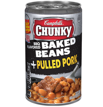 Campbell's® Chunky BBQ Flavored Baked Beans Pulled Pork