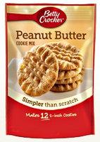 Betty Crocker™ Snack Size Peanut Butter Cookie Mix