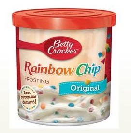 Betty Crocker™ Rainbow Chip Rich & Creamy Frosting