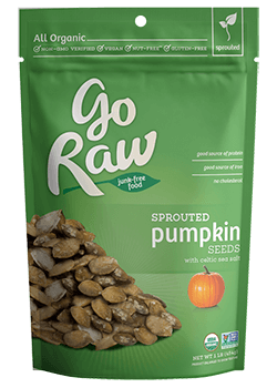 Go Raw Sprouted Pumpkin Seeds