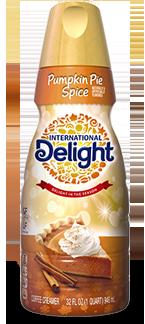 International Delight Creamer Pumpkin Pie Spice