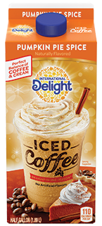 International Delight Pumpkin Pie Spice Iced Coffee