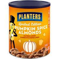 Planters Pumkin Spice Almonds Can