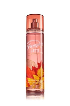 Bath & Body Works Pumpkin Latte & Marshmallow Fine Fragrance Mist