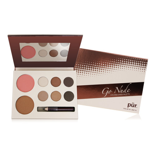 Pur Minerals Go Nude Eye and Cheek Palette