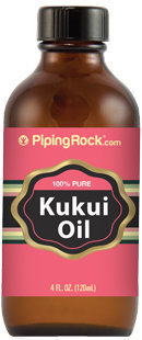 Piping Rock Pure Kukui Oil 4 fl oz