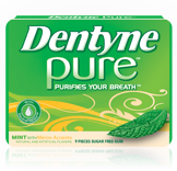 Dentyne Pure Mint with Melon Accents With Neutra Fresh Gum