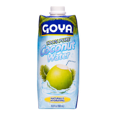 Goya® Coconut Water 100% Pure Naturally Hydrating