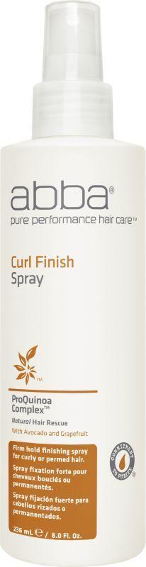 Abba Perfume ABBA Pure Curl Finish Hair Spray - 8.45 oz