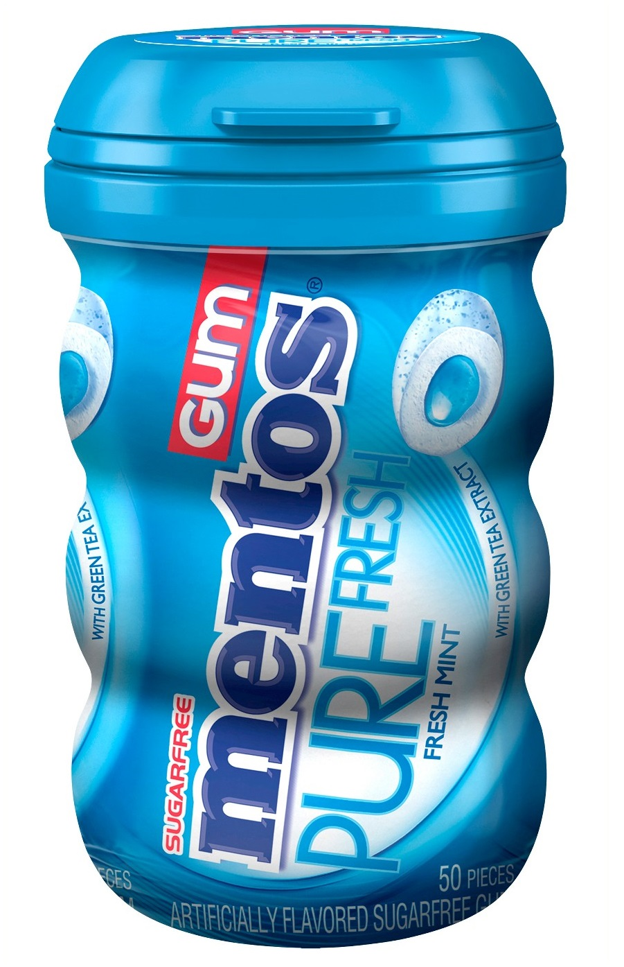 mentos Pure Fresh Fresh Mint - Curvy Bottle