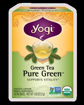 Yogi Tea Green Tea Pure Green