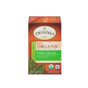 TWININGS® OF London Pure Green Organic Tea Bags