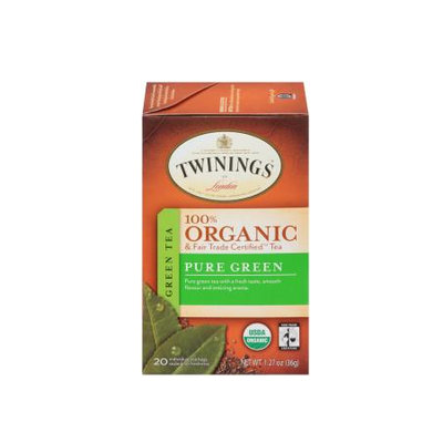 TWININGS® OF London Pure Green Organic Tea Bags