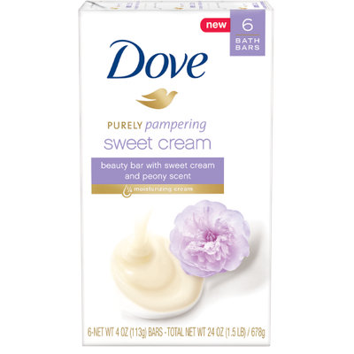 Dove Purely Pampering Sweet Cream and Peony Beauty Bar