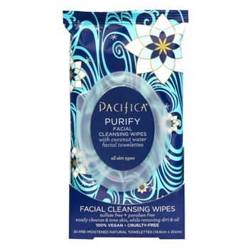 Pacifica Purify Coconut Water Facial Cleansing Wipes