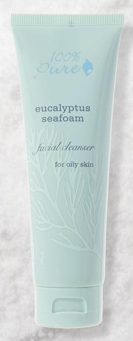 100% Pure Eucalyptus Seafoam Facial Cleanser