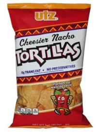 Utz Cheesier Nacho Tortilla Chips