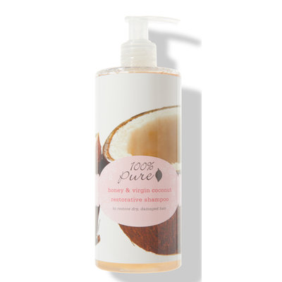 100% Pure Honey & Virgin Coconut Shampoo Restorative