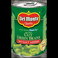 Del Monte® Blue Lake Cut Green Beans Not Salt Added