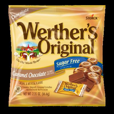 Werther's Original Caramel Chocolate Sugar Free