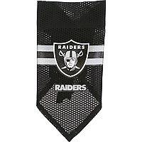 Hunter Oakland Raiders NFL Dog Bandana (Large; 10