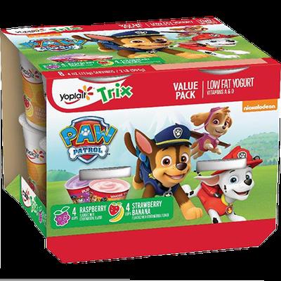 Yoplait® Trix™ Strawberry Bananna Bash Raspberry Rainbow Variety Pack