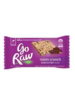 Go Raw Raisin CrunchSprouted Bars