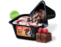 Muller® Yogurt Raspberry Brownie Supreme