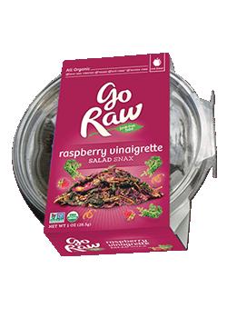 Go Raw Organic Raspberry Vinaigrette Salad Snax