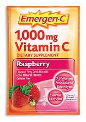 Emergen-C 1,000 mg Vitamin C Raspberry